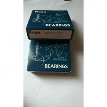 Koyo bearing 6207 2RSC3 ball bearing deep groove ball bearing